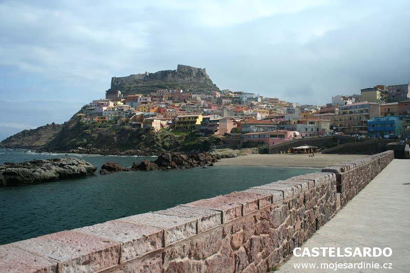 Castelsardo Sardinie