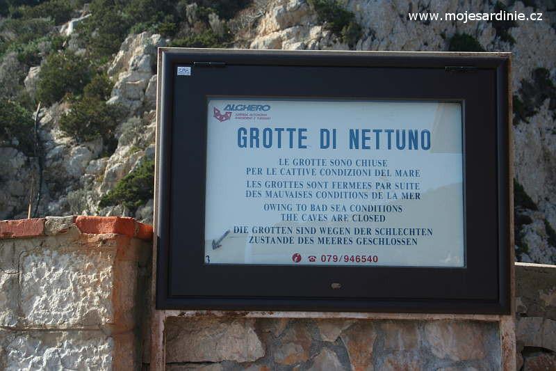 Neptunova jeskyně, Sardinie