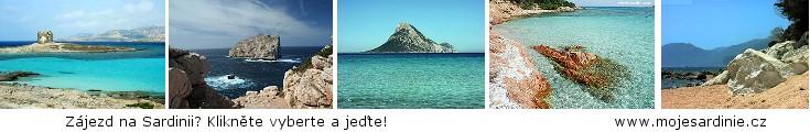 Zájezd na Sardinii? Klikněte vyberte a jeďte.